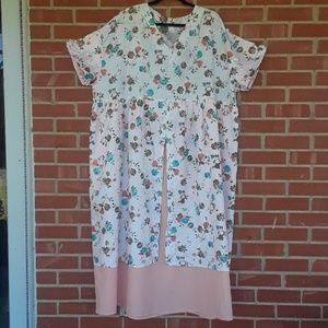 Vintage handcrafted mumu dress size 5X?
